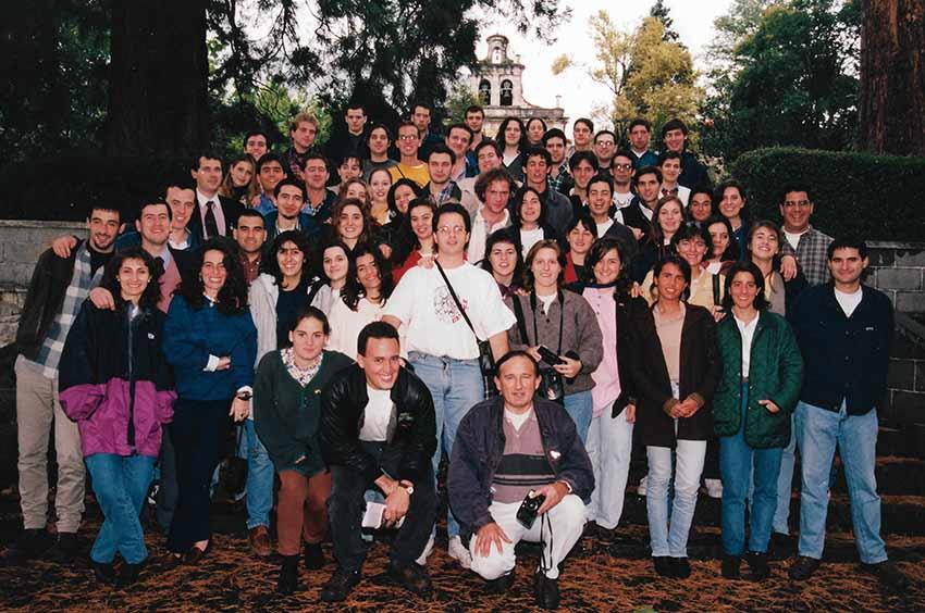 Primer programa Gaztemundu en Euskadi, llevado a cabo entre el 16 y 30 de septiembre de 1996