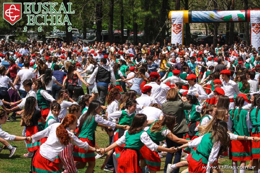 Fiesta Vasca 2019 del Colegio Euskal Echea de Llavallol