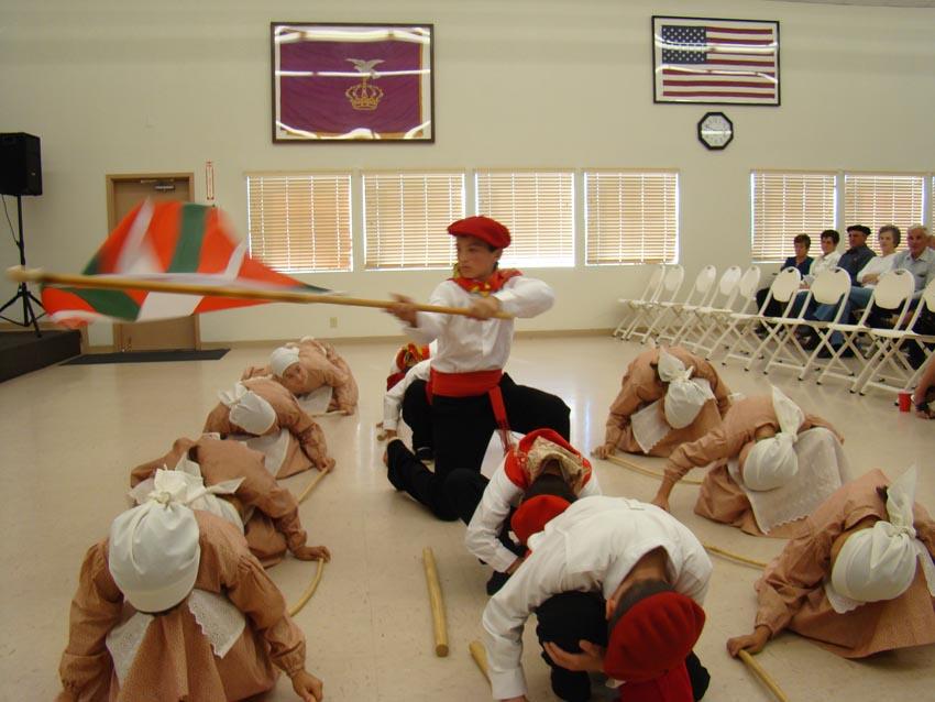 2008 Rocklin Kantari Eguna dancers