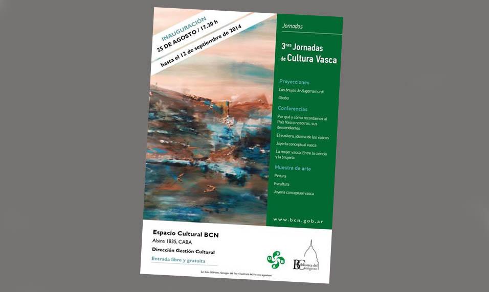 2014 III Jornadas de Cultura Vasca