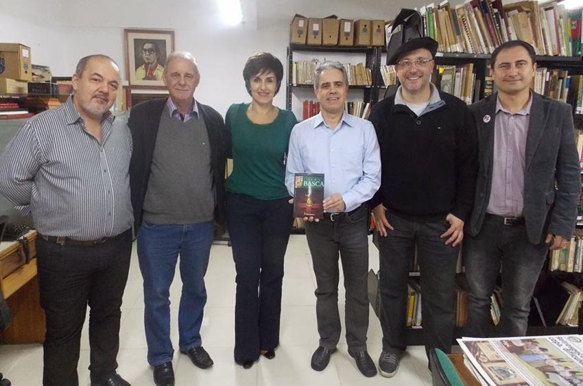 Meeting between the RGDS Basque Club and the IGTF