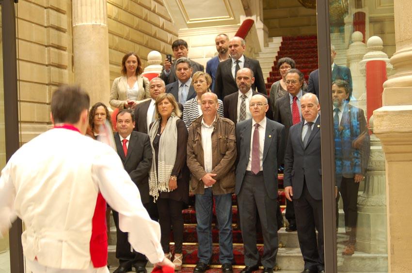 Chilean visit to Gipuzkoa