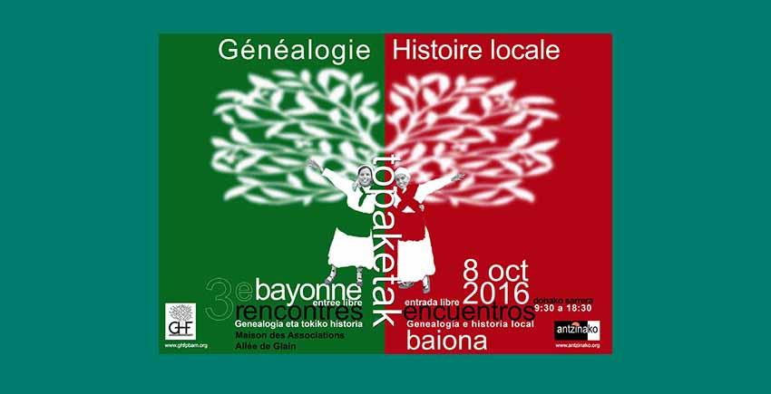 Genealogia Topaketak 2016