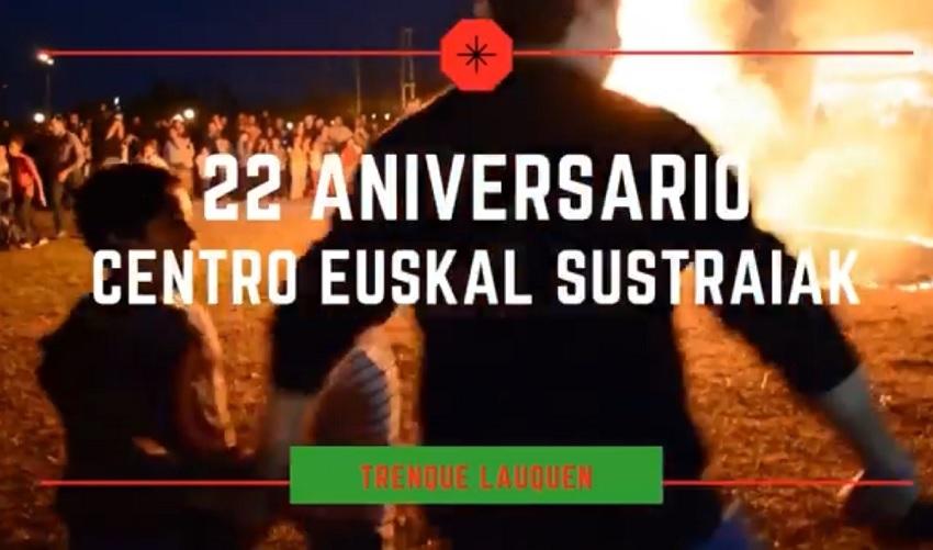 Trenque Lauquengo Euskal Sustraiak Euskal Etxearen 22. urteurrena