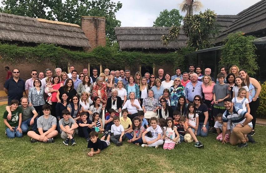 En el 2º Encuentro de la familia Eguiazu se reunieron 70 personas