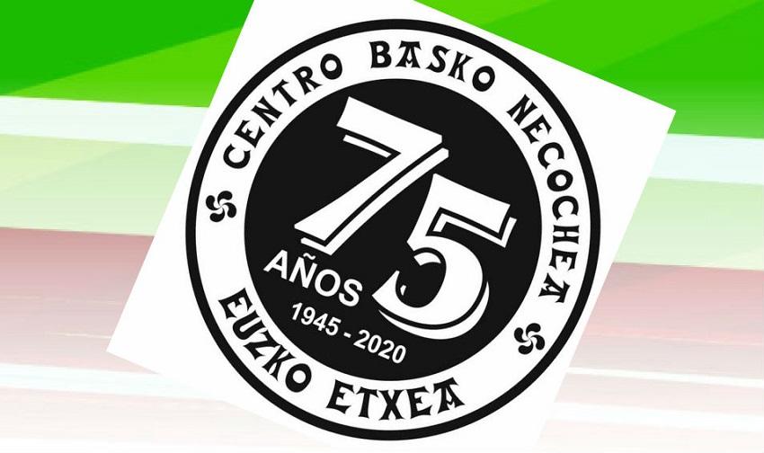 75. urteurren logotipoa