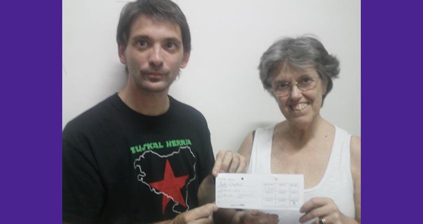 Aitor Alava eta María Elena Etcheverry