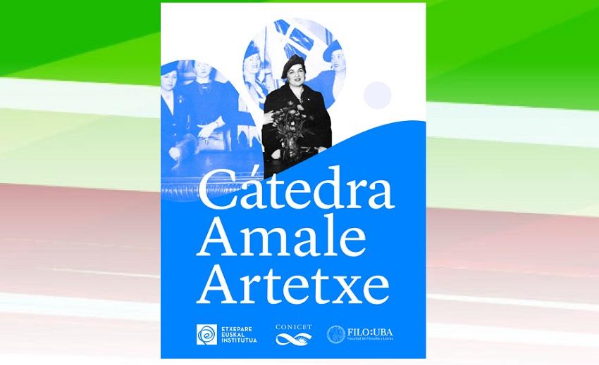 Inauguración de la Cátedra 'Amale Artetxe'