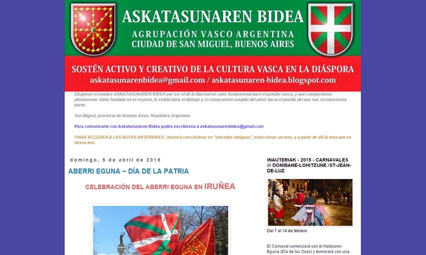 Asociación vasca Askatasunaren Bidea de San Miguel