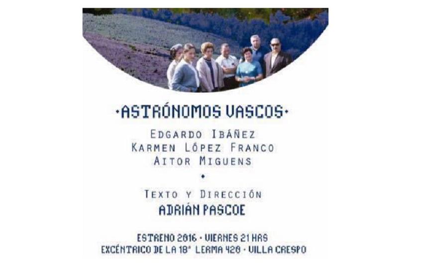 Obra de Teatro 'Astronomos Vascos'