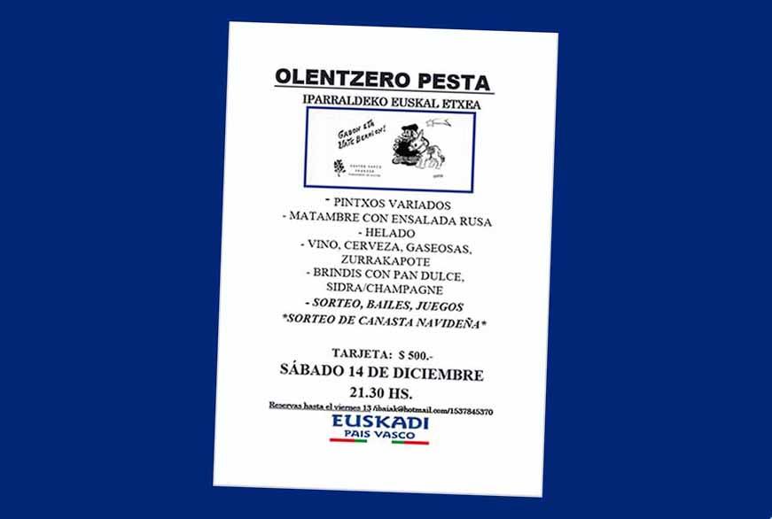 Olentzero Iparraldeko EE