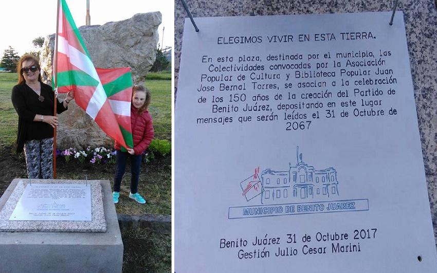 Benito Juarezko 'Denboraren kutxa'