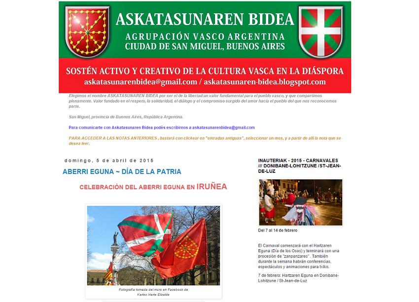 Blog de Askatasunaren Bidea