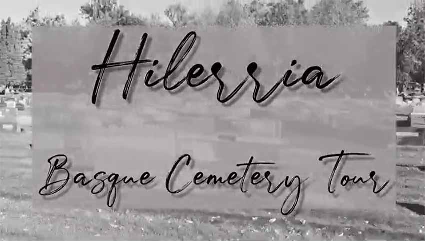 Boise Basque Cemetery Tour