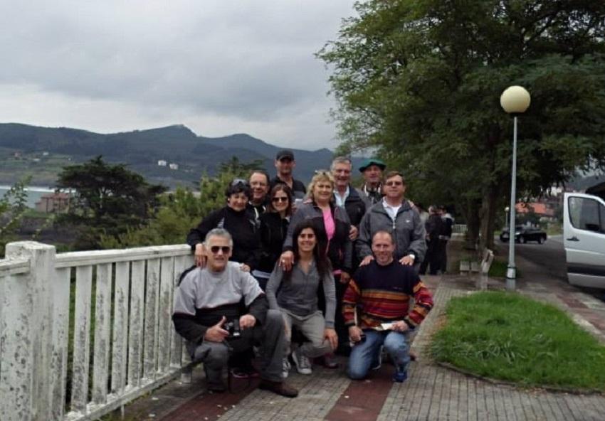 Chacabucoko bidaiariak Euskal Herrian