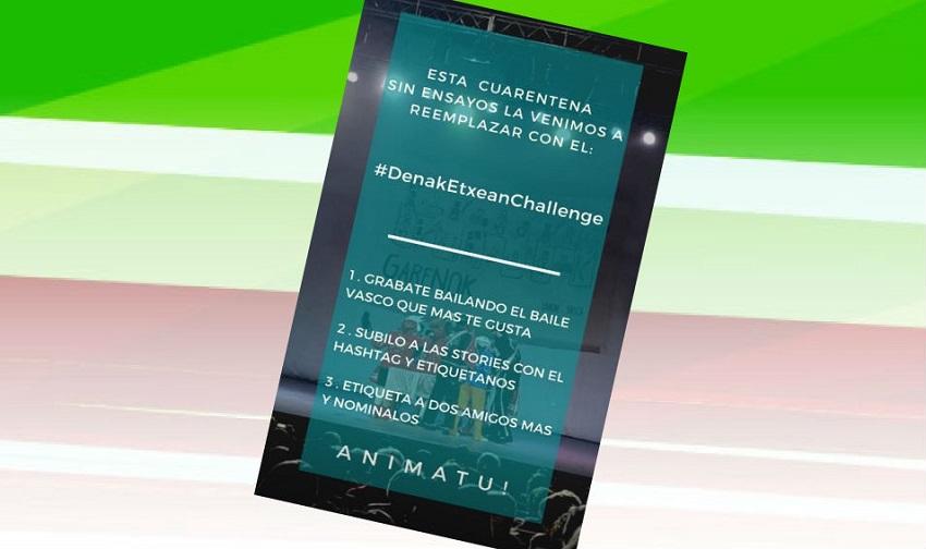 Dantzaris in La Plata created #denaketxeanchallenge