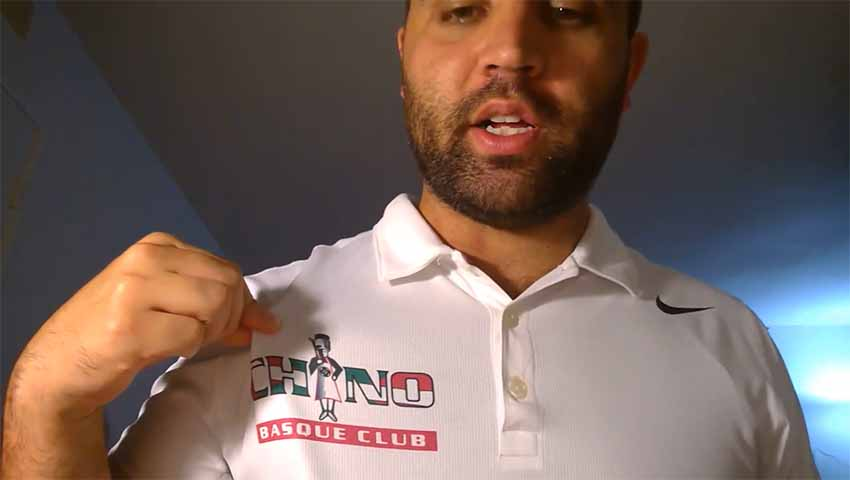 In the name of the Chino Basque Club, Christian Jaureguy invites everyone to participate in the club's virtual picnic this Sunday via YouTube