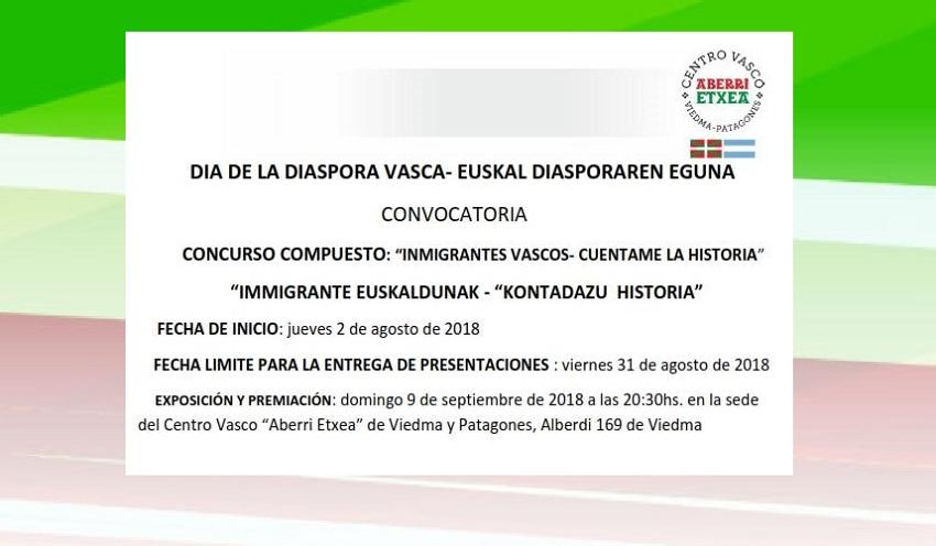 'Inmigrantes Vascos-Cuéntame la historia'