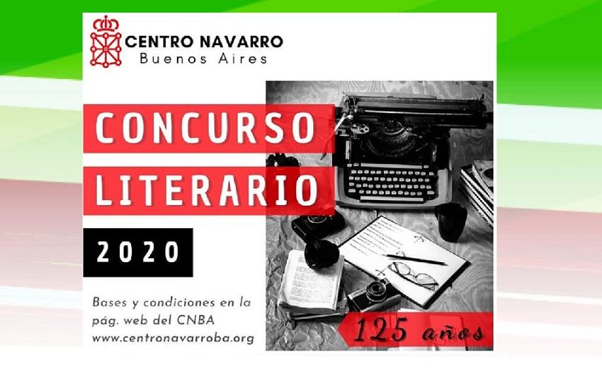 Concurso Literario aniversario del Centro Navarro de Buenos Aires