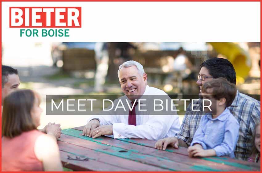 Dave Bieter kanpaina 2019