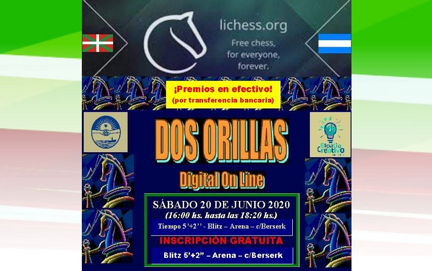 2020ko 'Dos Orillas' Xake Txapelketa