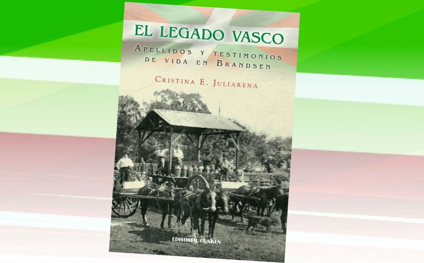 Tapa del libro 'El Legado Vasco' de Cristina Juliarena