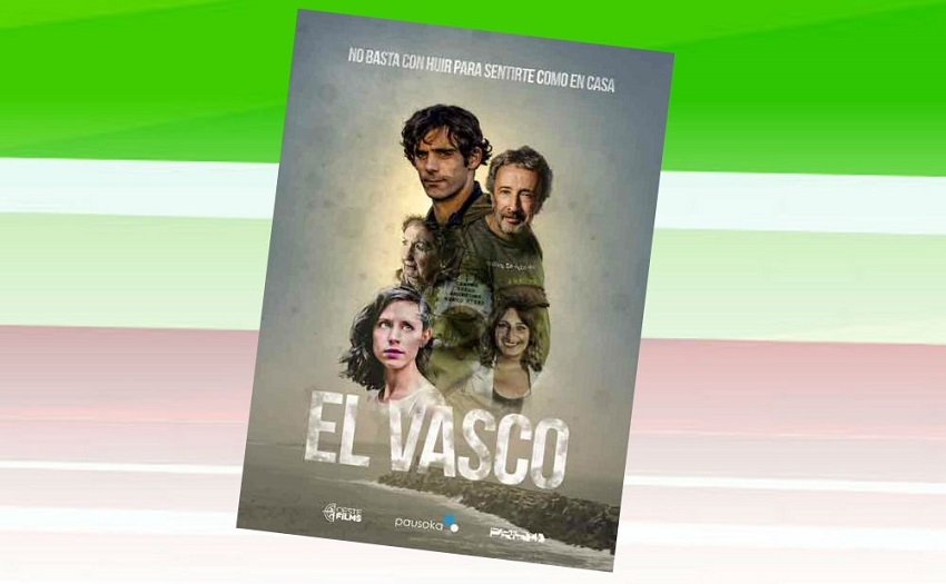 "Poster for ""El Vasco,"" a Basque-Argentine production"