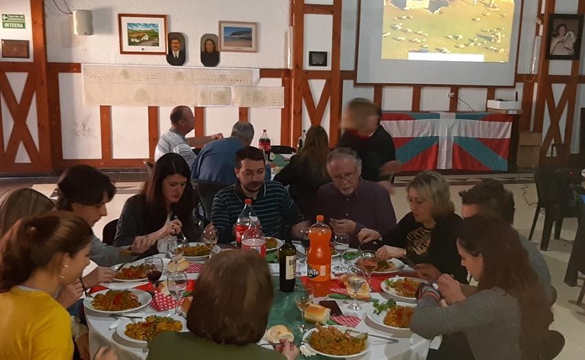 Familia Topaketa Gure Ametza Euskal Etxean