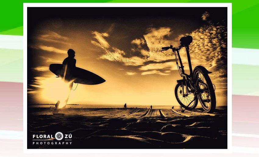 Florencia Alzugarayren 'Bicicletas en foco'