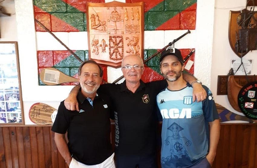 Guillermo Francella eta Joaquin Furriel 'Rincón Basko' jatetxean