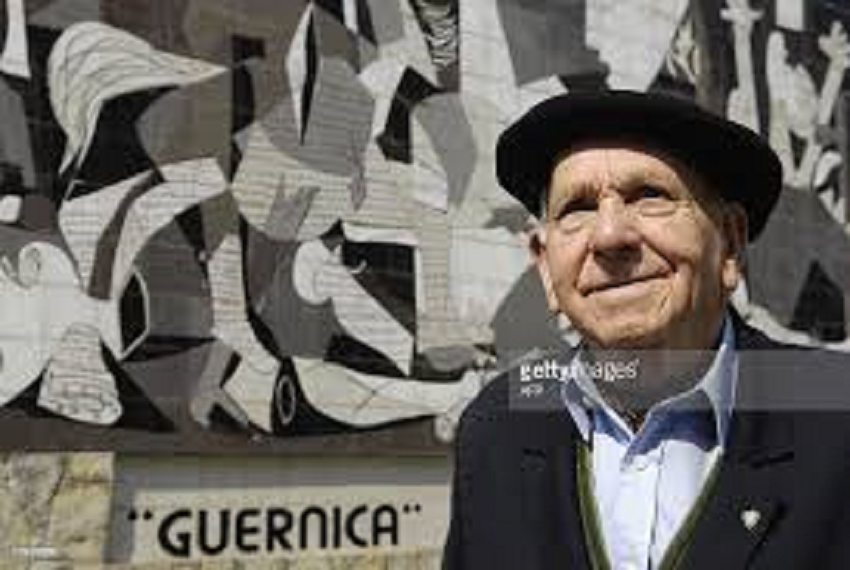 Image from the documentary with survivor Pedro Baliño