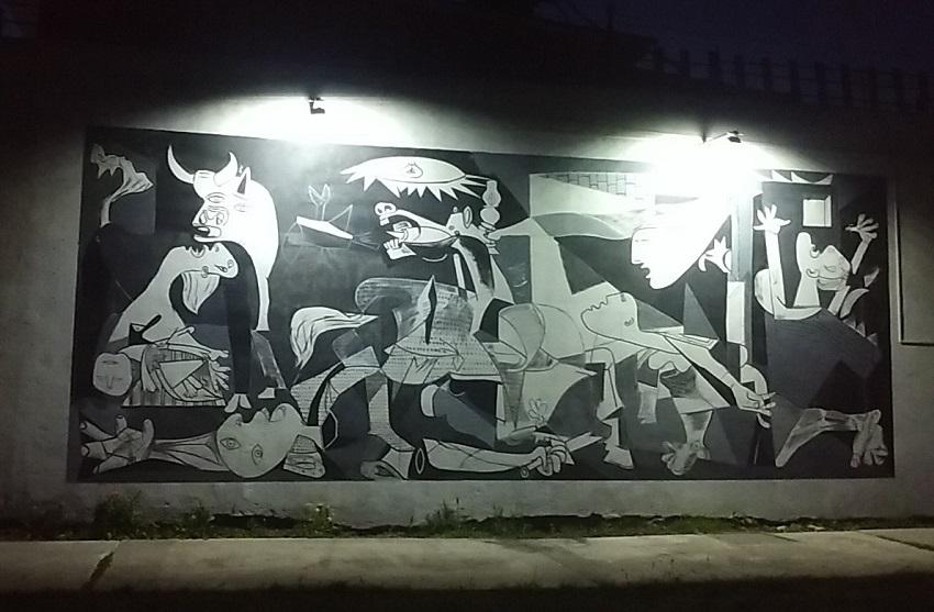 'Guernica' koadroaren murala