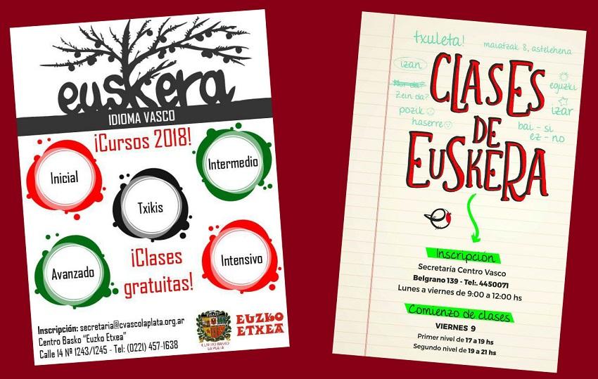 Clases de Euskera 2018