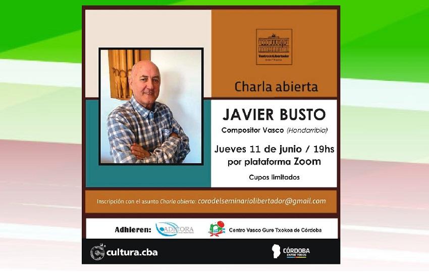 Javier Bustoren hitzaldia