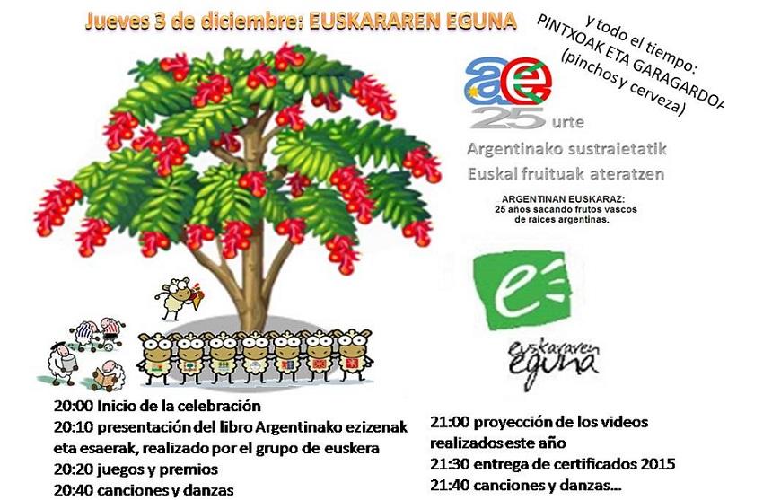 Día del Euskera 2015 en Bahía Blanca