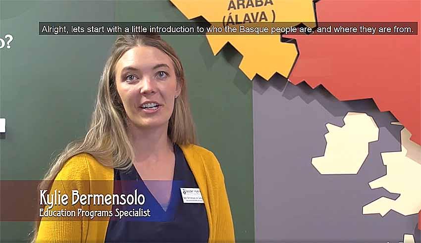 Kylie Bermensolo Euskal Museoan