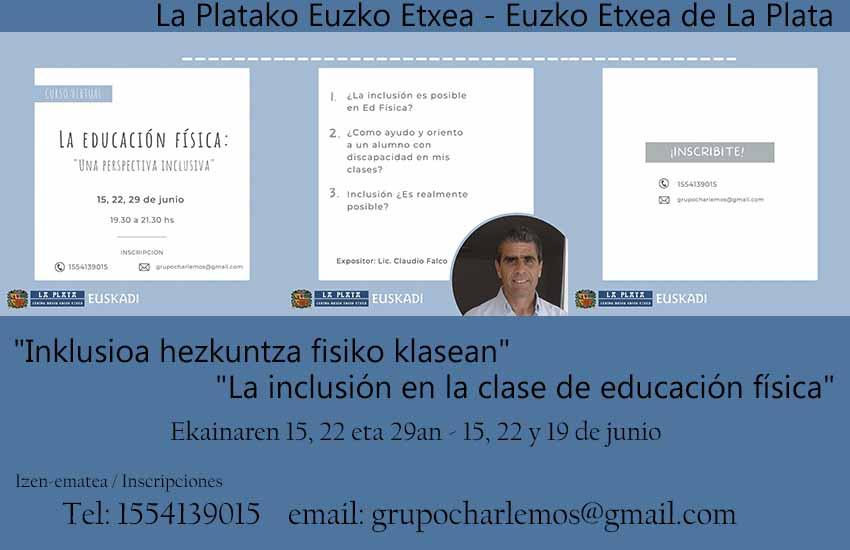 Euzko EE La Plata inclusión
