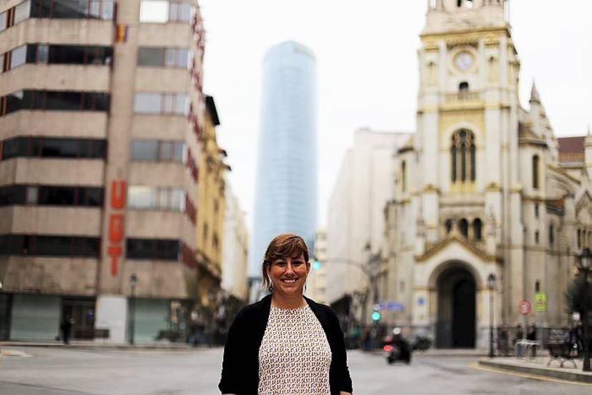 Laura González de Artaza en Bilbao