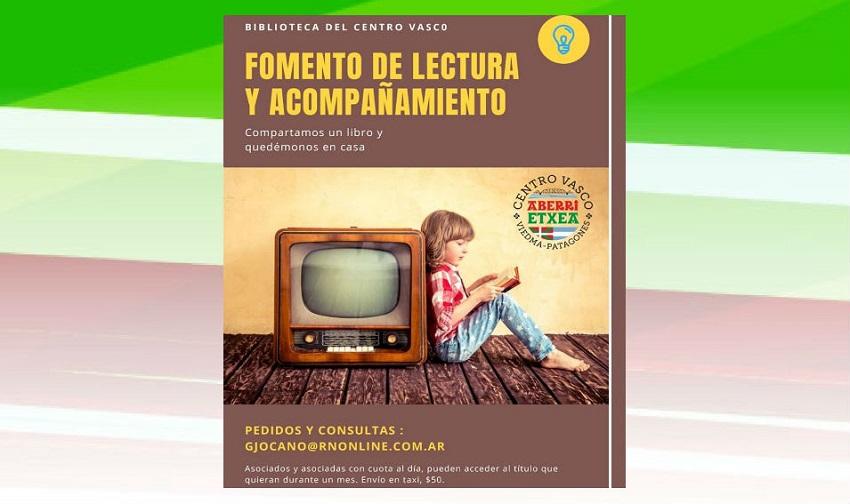 """Programa de """"Fomento de Lectura y acompañamiento"""" durante la cuarentena"""