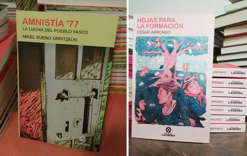 The recently published two books by Lauburu Publishers