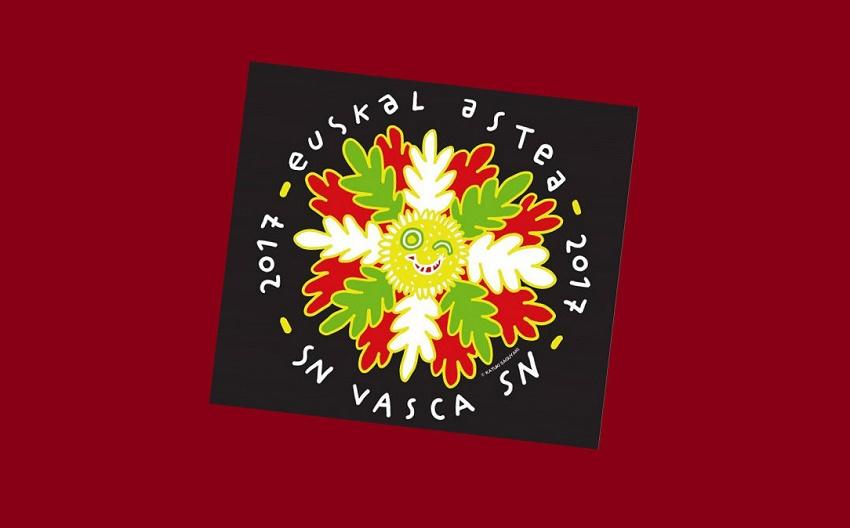 Logo de la Semana Nacional Vasca 2017