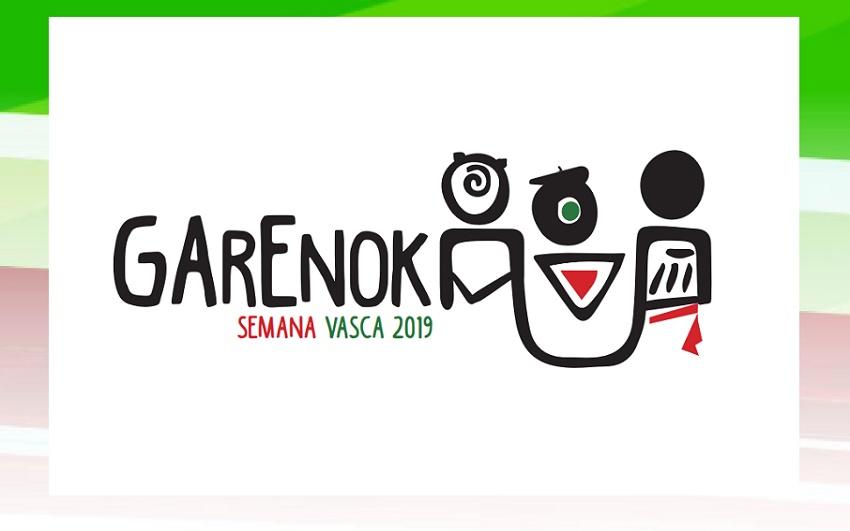 Logo of the 2019 Semana Vasca in Bahia Blanca, Argentina