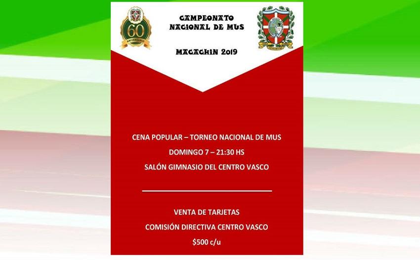 2019ko Argentinako Mus Txapelketa Nazionala