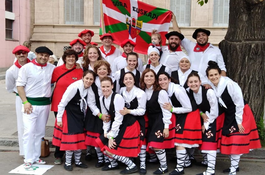 39th anniversary of the Mendiko Eusko Etxea Basque Club in Bariloche