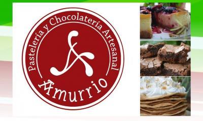El logo de 'Amurrio' es una creación de Edurne Crespillo Canz: reúne un lauburu con la 'A' de Amurrio