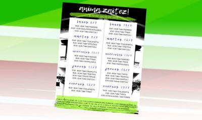 2019 Anima Zaitez! Program