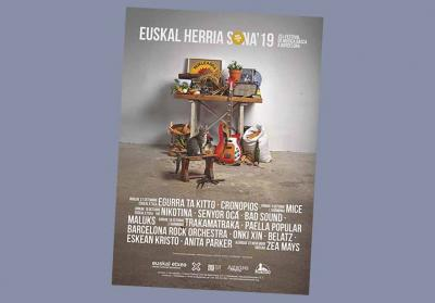 Organized by the Barcelona Euskal Etxea, Euskal Herria Sona enjoys the participation and support of the Etxepare Basque Institute and the Azkue Foundation