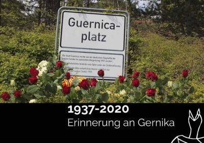 Berlingo Euskal Etxeak, neurriak hartuz, baina presentzialean gogoratu zuen apirilean Gernikako Bonbardaketaren urteurrena