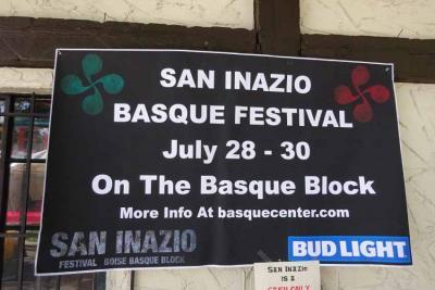 Este año NO habrá Fiesta Vasca de San Inazio en el Basque Block de Boise (foto de archivo)
