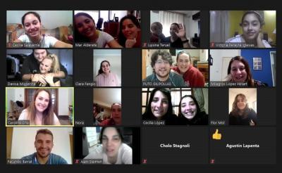 Encuentro virtual de dantzaris navarros